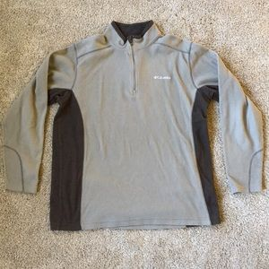 Men's Columbia Fleece Quarter Zip